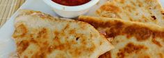 Slow Cooker Cheesy Chicken Quesadillas - ^ these are really good!