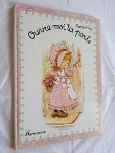 #enfance #fille : Ouvre Moi Ta Porte - Sarah Kay. Hemma, 1979. Imprimé en 1981. 24 pages non paginées.