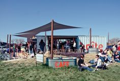 Shipping Container Cafe