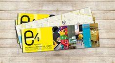 Un des nombreux flyer réalisé pour Emporium Décoration, à Rouen, proposant à ses clients une vaste gamme de meubles ethniques.