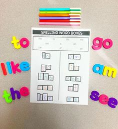 Your word work/spelling station will never be boring again. Gone are the long hours you will have to spend searching for spelling activities. With this editable spelling activities bundle, simply type the words on the word lists and it automatically creates 50+ activities you can use to practice the given words. It is absolutely NO PREP! With so many to choose from, your students will always want to do their word work! This resource accommodates word lists of 10, 12, and 15 words. Spelling Lists, Spelling Activities, Vocabulary Activities, Spelling Words, Silly Sentences, Synonyms And Antonyms, Spelling Patterns, Reading Intervention