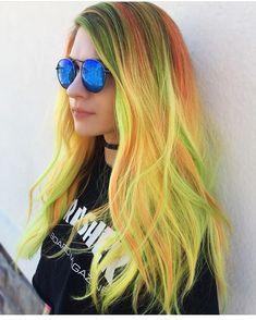"4,668 Me gusta, 36 comentarios - Pulp Riot Hair Color (@pulpriothair) en Instagram: ""@haileymahonehair is the artist... Pulp Riot is the paint."""
