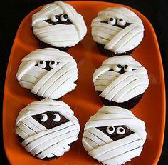 cupcakes de halloween - Buscar con Google