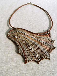 Anibe / Mušle - paličkovaný šperk