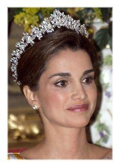 Königin Rania von Jordanien Postkarte