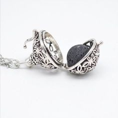 Just $19.99 This Week Only 200/134 LEFT IN THIS COLLECTION This is a great looking Antique Silver Plated diffuser necklace. This elegant necklace can give you the benefits of Essential oils wherever y