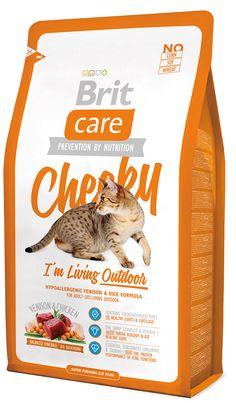 Брит Care Cat Cheeky Outdoor гипоаллергенный для активных кошек и кошекуличного содержания Оле