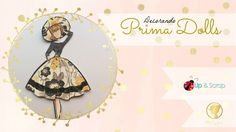 Julie Nutting, Prima Doll Stamps, Gift Tags, Collage, Scrapbook, Dolls, Artist, Gifts, Magnolia