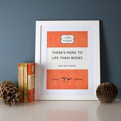 classic paperback print by paperpaper | notonthehighstreet.com