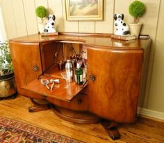 Art Deco Liquor Cabinet