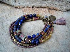 Bohemian+Bracelet+/+Gypsy+Bracelet+/+Boho+Jewelry+/+by+Syrena56,+$48.00