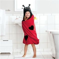 Lovebug Children's Hooded Bath Towel in Red by Jumping Beans by Jumping Beans, http://www.amazon.com/dp/B009S0806O/ref=cm_sw_r_pi_dp_2el.qb0H8KN8W