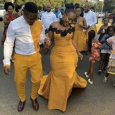 Top Seshweshwe Shweshwe Dresses for a Wedding Fashion Style African Fashion Ankara, Latest African Fashion Dresses, African Dresses For Women, African Print Fashion, African Attire, African Wear, Setswana Traditional Dresses, African Traditional Wedding Dress, African Fashion Traditional
