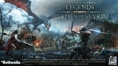 The Elder Scrolls: Legends - Heroes of Skyrim HD gameplay