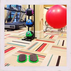 A perfect gym has Valslides!