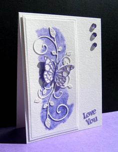 FS380 Purple Splash by catluvr2 - Cards and Paper Crafts at Splitcoaststampers