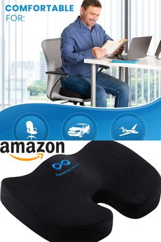 Price: $39.95 . Relax in luxury with the Everlasting Comfort Memory Foam Seat Cushion. Its U-shaped design uses heat-responsive technology to allow our advanced foam cushion to perfectly mold to the shape of your bottom. Providing ideal support, yet retaining its shape after each use. Our versatile seat cushion is made with premium quality memory foam and is a great addition to any home office, or desk chair to give you the comfort you need when you need it.