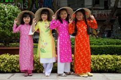 Wonderful Vietnamese Girls And Long Dresses  The Most Beautiful Women In The