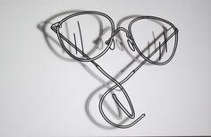 craig martin glasses installation - Google Search