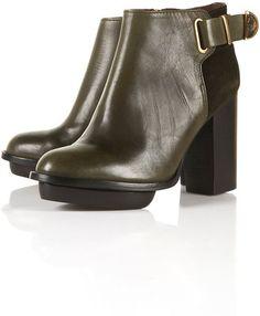 ShopStyle: POWER Gold Trim Boots