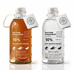 Solution Of Alcohol (Concept) on Packaging of the World - Creative Package Design Gallery design Solution Of Alcohol (Concept) Juice Packaging, Cool Packaging, Food Packaging Design, Beverage Packaging, Bottle Packaging, Bottle Labels, Brand Packaging, Medicine Packaging, Beer Labels