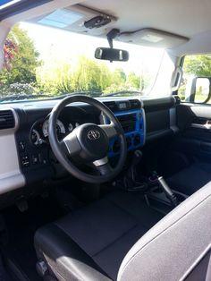 Captain America's interior #fjcruiser