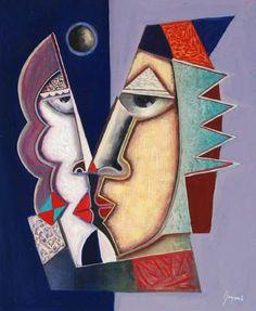 Risultati immagini per Il bacio nei dipinti di arte moderna , nelle immagini…
