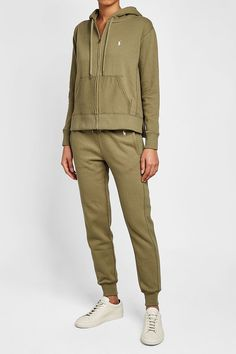POLO RALPH LAUREN - Zipped Hoodie with Cotton | STYLEBOP
