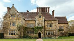 Visit the National Trust's century Jacobean house, Bateman's in East Sussex, sanctuary to writer Rudyard Kipling. English Manor Houses, English House, Interesting Buildings, Beautiful Buildings, Pictures Of England, English Architecture, Medieval Houses, Castle House, Sims House