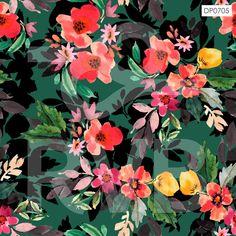 DP0705 | Arte Floral | RVB Prints | Estamparia Digital | FITNESS