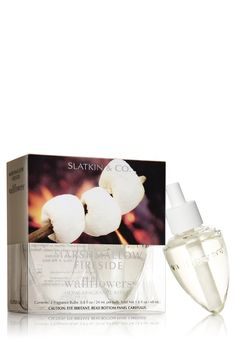 The best fall scent ever made!! Marshmallow Fireside Wallflowers 2-Pack Refills - Slatkin & Co. - Bath & Body Works