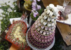Bom dia! Torre de macarons com desconto??? Só na @cheerseventos que começa hoje na @casaitaim ! Não percam!!! #maymacarons #mesasdecoradas