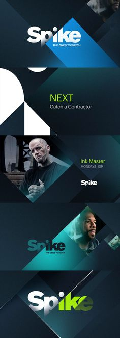 Spike TV Rebrand Storyboard on Behance