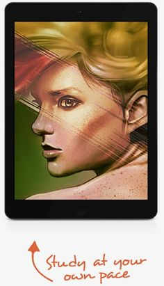 The Digital Painting Academy: Become a World Class Digital Painter! Learn To Paint, Portrait Art, Cartoon Drawings, Traditional Art, Art School, Concept Art, How To Become, Character Design, Digital