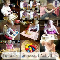 Montessori Toddler Activities