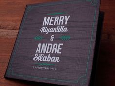 Undangan Pernikahan Merry & Andre - Initustudio