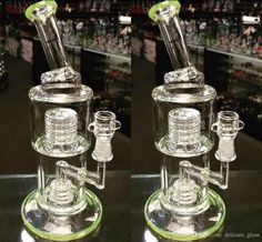 In Stock 28cm Green Glass Bong Smoking Water Pipes Honeycomb Tyre Birdcage Percolator Glass Bongs Cheap Hookah Recycler Oil Rigs Glass Bongs Glass Bong Bongs Water Pipes Hookahs Online with 39.06/Piece on Delicate_glass's Store   DHgate.com