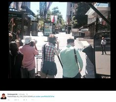Hostages held in siege in Martin Place. Sydney, Australia, Pictures, Photos, Australia Beach