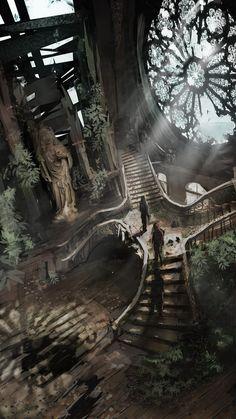 http://rashomike.deviantart.com/art/Sanctuary-412070706 Fantasy Art Engine