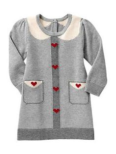 Heart sweater dress | Gap