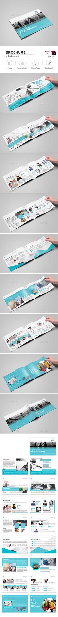 Brochure - #Corporate #Brochures Download here: https://graphicriver.net/item/brochure/18489968?ref=alena994