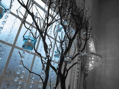 Crystal Wedding Tree Centerpiece by Magic Beyond Midnight  Looks cool