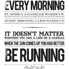 No Excuses! Motivational Quotes to Get You Moving: Source: Asics
