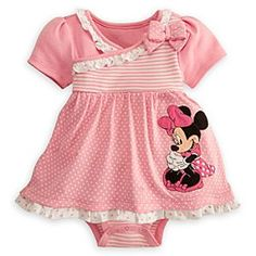 2 Cute Clothing Store Girls Disney Minnie Mouse Dress for