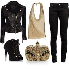 2937d28e15e Got to dig an outfit that combos leather