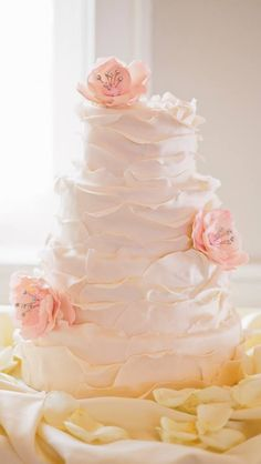 All A-Ruffle Cake By The Night Kitchen  Chestnut Hill PA