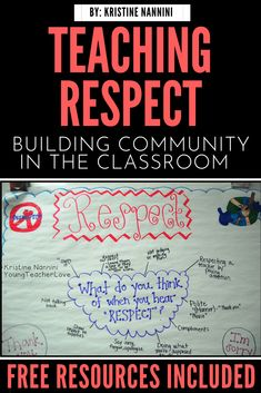 Building Community Through Respect (Freebie) – Young Teacher Love Building Community Through Respect (Freebie) – Young Teacher Love,Classroom Management Looking for ideas for and building in the upper elementary classroom? This post. Respect Activities, Teaching Respect, Student Teaching, Free Activities, Teaching Ideas, Creative Teaching, Elementary Counseling, Elementary Teacher, Upper Elementary