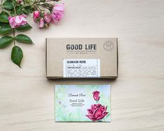 Good Life Damask Rose Scented Sachets For Drawers and Closets Designed and Manufactured in New Zealand 12 Sachets Home Accessories Home Fragrance