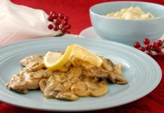 Veal Scaloppini Alla Marsala by Chef Pasquale Greco of Paradise Restaurant