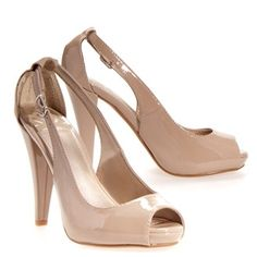 Anyone thinking shoes? I was thinking a nude or ivory color since Al will be in white with green shoes, we could be in green with white/ivory/nude shoes. Thoughts?